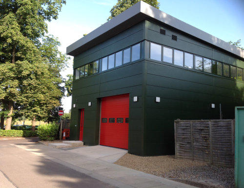 Fire Station, BP - Pangbourne